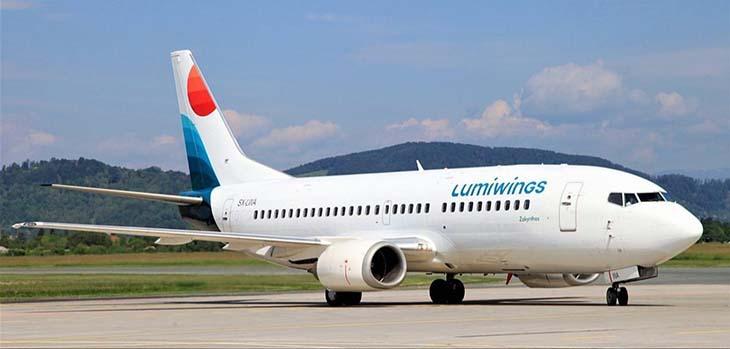 La compagnia aerea greca Lumiwings approda a Trapani Birgi